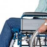 Man With Broken Bone In Wheelchair