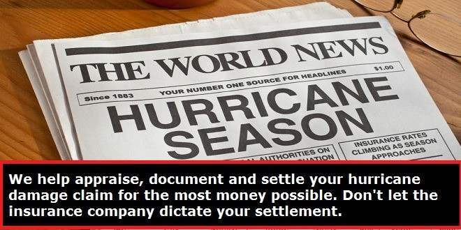 Hurricane Isaac Insurance Claims