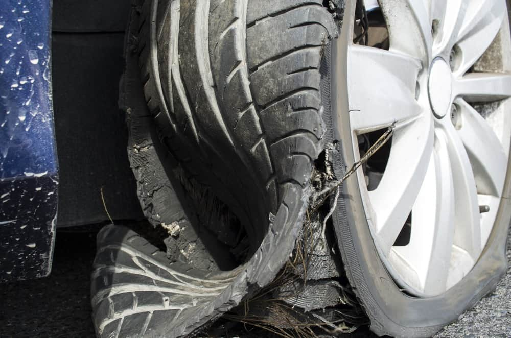 Who Do You Sue If Your Car Accident Was Caused By A Tire Blowout in Texas?